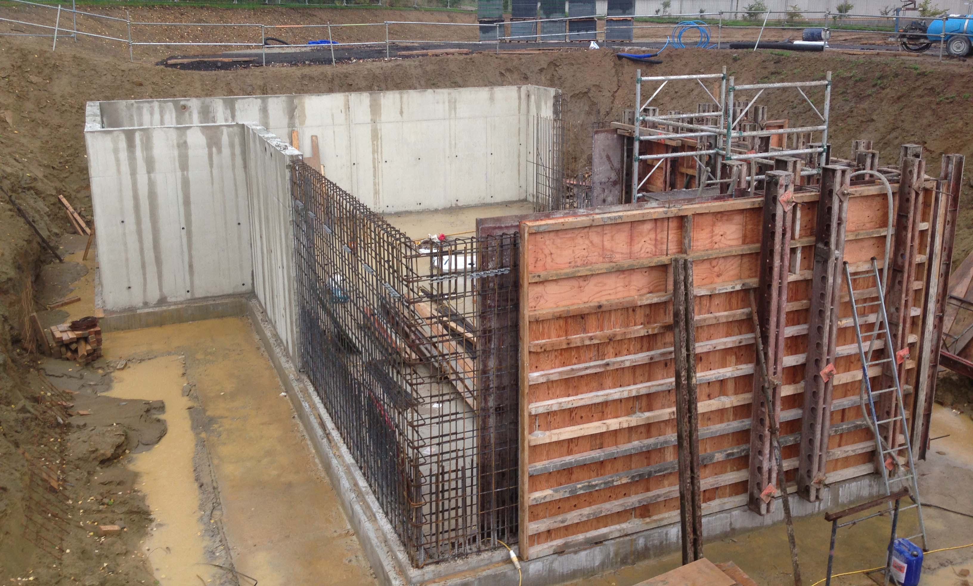 Waterproof Basement Construction : Basement waterproofing and retaining walls bonner formwork