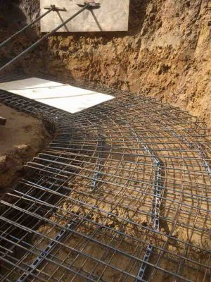 Curved Retaining Wall for Transform Landscape Design and Construction Limited Sept 2017