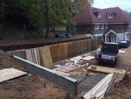 Retaining Walls For Martin's GTS