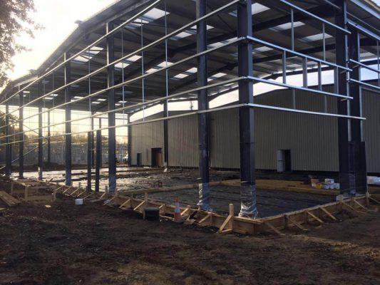 Watchmoor Park, Camberley, Powerfloat Base For Surtees Groundworks November 2016