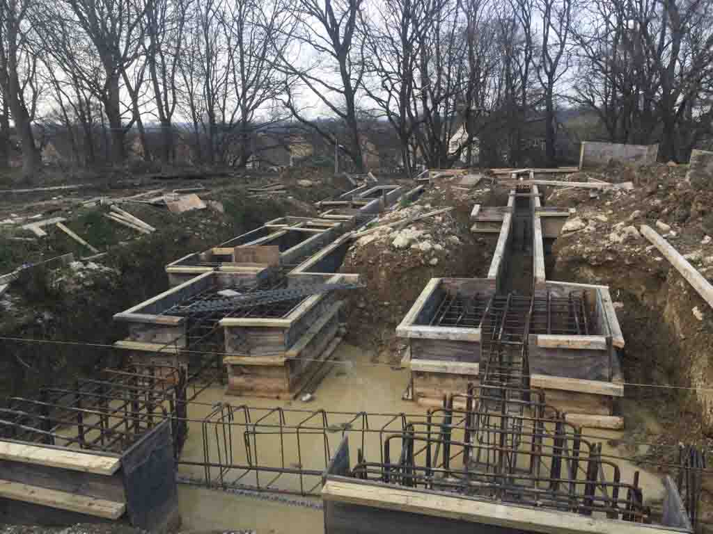 Ground beams Mudan Construction March 2017