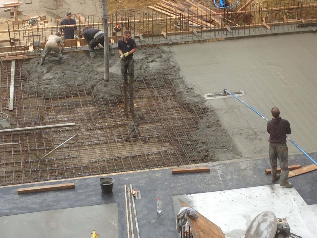 Concrete Slabs & Bases Pour in New Forest